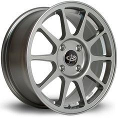 16 ROTA RSPEC ANTHRACITE 7J 4 stud 45 offset alloy wheels