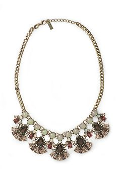 Ruby Petals Necklace #anthropologie