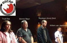 Bail hearing of Ras Rhino poaching syndicate  2. Trudie Ras (wife of Hugo) 6. Jacobus Steyn aka Bonnie Steyn (Pilot) 7. Abraham Johannes Smit (Trudi Ras's brother) 10. Willem van Jaarsveld ( Poacher ) (Accused nrs 1, 3, 4, 5, 8 and 9 will have their bail heard 8 October 2014.) 1. Hugo Ras (Ringleader) 3. Mandla Magaguka (poacher) 4. Willie Oosthuizen (Organized Crime) 5. Joseph Wilkinson (Attorney) 8. Christopher Scheepers aka Mathys (Free State guy) 9. Anton Ras (brother of Hugo) Crime In South Africa, Rhino Poaching, Free State, October 2014, Investigations, Horn, Documentaries, Study, Horns