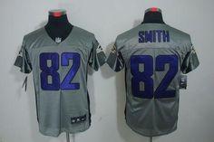 Nike Ravens  82 Torrey Smith Grey Shadow Men s Embroidered NFL Elite Jersey   Emillia Kelly f1875ebbe