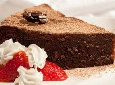 Torta de Chocolate e Café