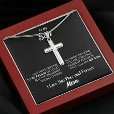 To My Son The Proudest Moment For Me I Love You Now &   Etsy