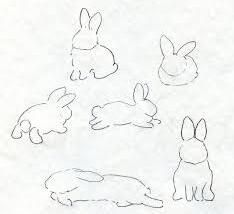 Drawings Ideas Learn How to Paint a Beautiful Bunny - This tutorial will teach you how to portray an adorable bunny in your artwork. Bunny Tattoos, Rabbit Tattoos, Animal Sketches, Animal Drawings, Lapin Art, Rabbit Drawing, Easy Bunny Drawing, Walt Disney Animation Studios, Bunny Art