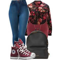 We got all the Time Boy to come a lil' closer.I just Wanna hold ya.All night and day. by bria-queen-ovoxo on Polyvore featuring SELECTED, Converse and Givenchy