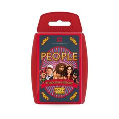 This special edition People Through History Top Trumps pack is filled with fun and interesting facts about people through time including Stone Age Man, Roman Soldier, Medieval Knight, Pirate and Sailor.