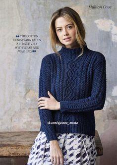 "Пуловер ""Mullion cove"" от Sarab Hatton. Обсуждение на LiveInternet - Российский Сервис Онлайн-Дневников"