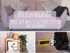 How to get your cosy on! #DFSCosyNightsIn