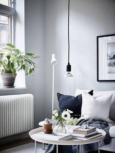 Fresh home in grey - via Coco Lapine Design