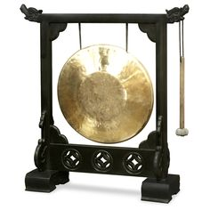 Very pity asian percussion instruments with