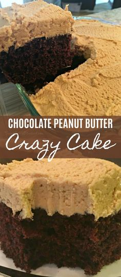 Peanut Butter Recipes, Chocolate Peanut Butter, Super Moist Chocolate Cake, Cake Chocolate, Food Cakes, Cupcake Cakes, Snack Cakes, Cupcakes, Just Desserts