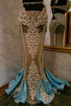 Fashion. Bellydance costume made by Helen Khuskyvadze workshop.