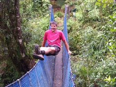 #greatwalker Pirongia swing bridge