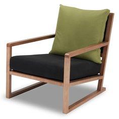 Sessel Woolwich Grün-Schwarz günstig online kaufen - FASHION FOR HOME