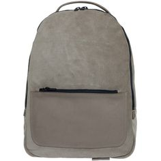 YEEZY Suede Backpack (€815) ❤ liked on Polyvore featuring mens, men's bags and men's backpacks