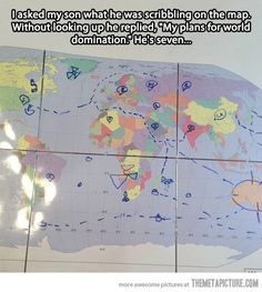 World domination. haha, love it Funny Pins, Funny Memes, Funny Stuff, Random Stuff, Funny Shit, Ironic Memes, Funny Sayings, Funny Cute, The Funny