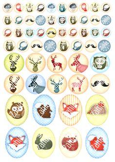 Prentjes voor vintage-style juwelen - Zahia, de mooiste kralen & fournituren