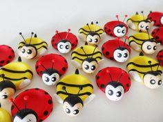 Porta docinho abelhinha (biscuit)