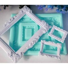 Fairy Door Accessories, Mirror Photo Frames, Ramadan Crafts, Resin Material, Candle Molds, Mold Making, Diy Photo, Silicone Molds, Christmas Diy