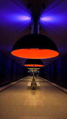 Subway, Munich by Gus Mercerat