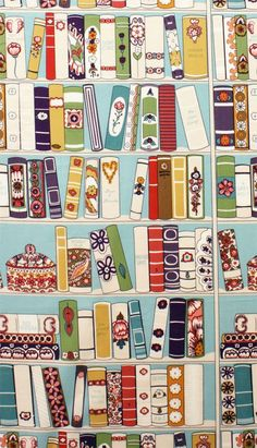 57 Ideas Doodle Art Wallpaper Illustrations For 2019 Book Wallpaper, Iphone Wallpaper, Reading Wallpaper, Pattern Wallpaper, I Love Books, My Books, Blue Books, Buch Design, Book Nooks