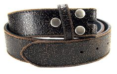 "Distressed Black Leather Belt Strap- Snap On Changeable- Men Women- 1.5"" - 30 31 2 33 34 35 36 38 39 40 42 44 46 47 xl xxl - POPULAR STYLE from AngelGrace on Etsy Studio"