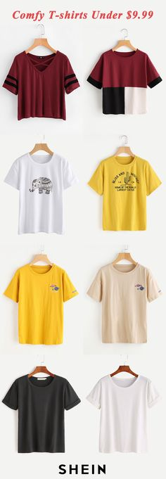 Comfy T-shirts under $9.99
