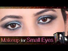 Makeup For Small Eyes Makeup Tutorials, Art Tutorials, Makeup Tips, Eye Makeup, Beauty Make Up, Beauty Tips, Beauty Hacks, Makeup For Small Eyes, Lovely Eyes