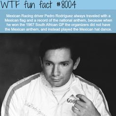 Pedro Rodriguez - WTF fun fact. Pride in your country!