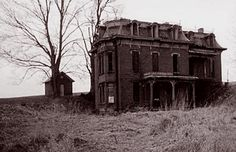 Victorian Homes - Location Unknown, Abandoned Victorian