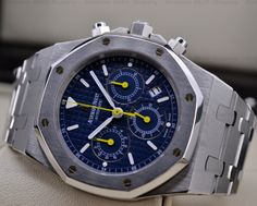 "European Watch Company: Audemars Piguet Royal Oak ""MOTREUX GRAND PRIX"" Limited Edition to 25 PIeces! Only Sold in Switzerland to Commemorate the Montreux Grand Prix held on the Shore of Lake Geneva...."