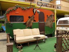 Located inner a former garage and featuring beautiful Airstream trailers, Basecamp Bonn Hostel is the probably the best indoor camping site in the World. Vintage Campers, Trailers Vintage, Vintage Rv, Vintage Travel, Bonn Germany, Indoor Camping, Go Camping, Airstream, Campsite