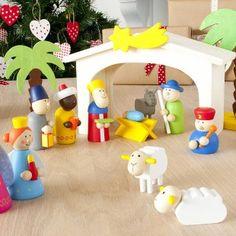 Wooden Nativity Set - Jellybean Kidz