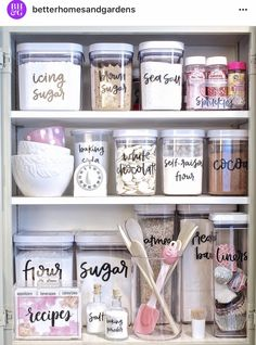 Home Organization Ideas is part of Easy home decor - Home Organization Ideas get organized at the start of this new year! From closet spaces, to the fridge, to the garage, there are plenty of awesome organization ideas to get you started! Home Organisation, Kitchen Organization, Organization Hacks, Organizing Ideas, Organization Ideas For The Home, Home Craft Ideas, Food Pantry Organizing, Organizing Labels, Cleaning Cupboard Organisation