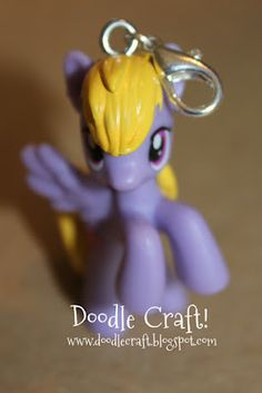 Step by step instructions on how to make my little pony charms/necklaces