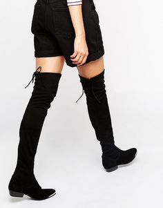 With metal-toe detailing and lace-up backs, these black wear-with-everything beauties are chic-personified, plus the low-heel means stamina for days. Wear 'em styled up with a going-out dress for the weekend or over a pair of the slinkiest jeans for daily life