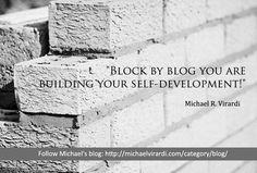 Michael R. Virardi's blog... worth reading!