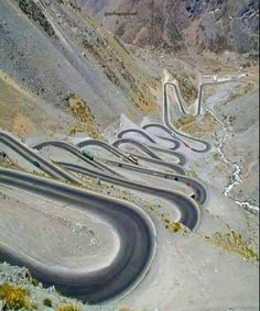 Amazing Road – not in Hakkari, Turkey, is in Chile