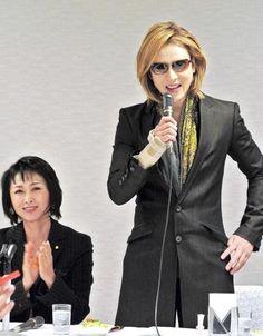 YOSHIKI政界進出「ないと思う」 自民党本部で委員会に出席  #クールジャパン #XJAPAN #YOSHIKI