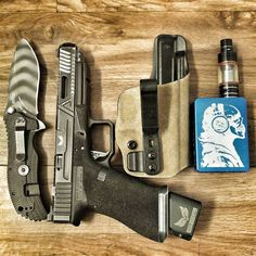 A few of the typical things to be found on my person. @agencyarms G34 with a match grade @s3fsolutions barrel. @ztknives blade. @gcodeholsters holster and my mod by @vaporvortex Save those thumbs & bucks w/ free shipping on this magloader I purchased mine http://www.amazon.com/shops/raeind  No more leaving the last round out because it is too hard to get in. And you will load them faster and easier, to maximize your shooting enjoyment.  loader does it all easily, painlessly, and perfectly…
