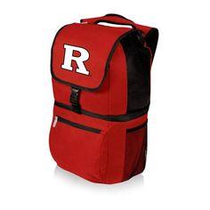 Zuma Cooler Backpack - Red (Rutgers University - Scarlet Knights ) Digital Print