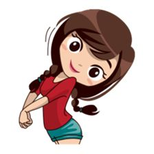 Alice is back, and now she will show you her daily expressions, enjoy! Love Cartoon Couple, Chibi Couple, Cute Cartoon Pictures, Cute Cartoon Girl, Cute Love Cartoons, Easy Disney Drawings, Portrait Cartoon, Emoji Love, Cute Love Stories