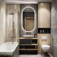 Modern Bathrooms Interior, Baths Interior, Bathroom Design Luxury, Chic Bathrooms, Bathroom Layout, Modern Bathroom Design, Tiny House Bathroom, Small Bathroom, Bathroom Showrooms