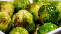 Brussels sprouts are simply seasoned with salt, pepper, and olive oil, then slow-roasted in a very hot oven until darkest brown. They are the perfect combination of sweet and salty, and make for perfect snack leftovers straight from the fridge the next day!