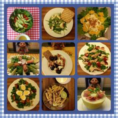 The Best Salads on my Blog