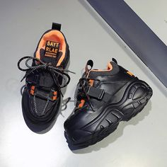 Chunky Sneakers, All Black Sneakers, High Platform Shoes, Cute Slippers, Glitter Sandals, Dad Shoes, Aesthetic Shoes, Casual Shoes, Shoes Heels