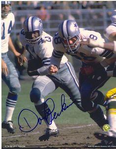 Autographed Don Perkins Dallas Cowboys 8x10 Photo