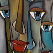Tight Knit By Fidostudio por Tom Fedro - Fidostudio - Pinturas de Thomas Fedro Pop Art Collage, Cubism Art, Face Art, African Art, Painting Inspiration, Painting & Drawing, Art Projects, Art Drawings, Abstract Art