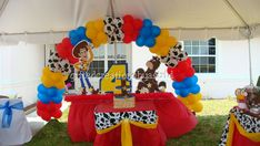 "Photo 1 of 22: Toy Story Woody Round Up / Birthday ""Toy Story Woody Round Up"""