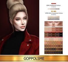 GOPPOLS Me — GPME Cheekbones Contour    10 Swatches  Download ...