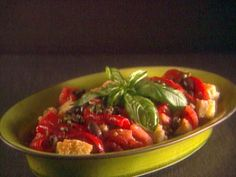 Get Panzanella Recipe from Food Network